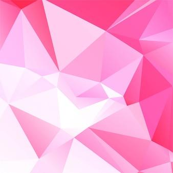 Nowoczesne różowe tło wielokątów