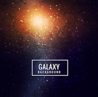 Nowoczesne tło galaktyk