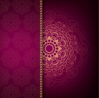 Nowoczesne tło mandali