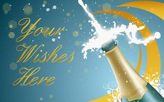nowych szampana rok