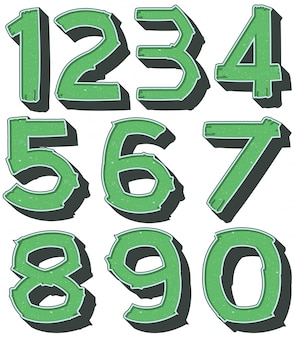 Numer jeden do zera na zielono