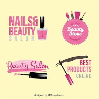 Odznaki salon piękności