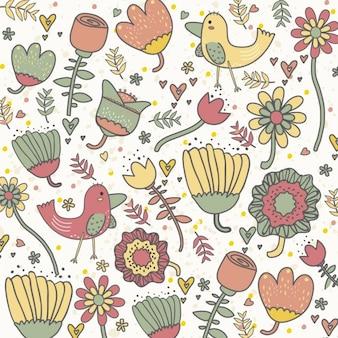 Ogród Ilustracja