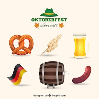 Oktoberfest jedzenie zbierania