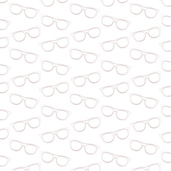 Okulary przeciwsłoneczne-line-art-wektor