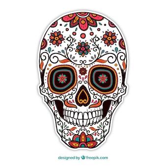 ozdobne czaszki cukru