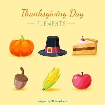 Pakiet Dziękczynienia tradycyjnych elementów