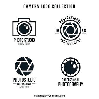 Pakiet logo aparatu fotograficznego