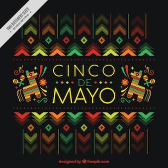 Piękne Cinco de Mayo w tle