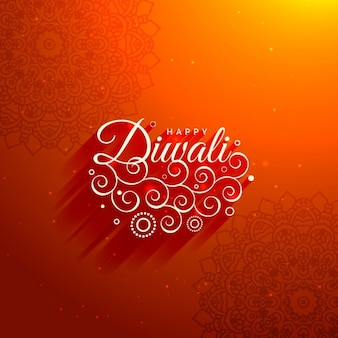 Piękne Diwali pozdrowienia tło