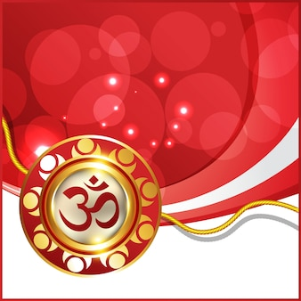 Piękne tło festiwalu hinduistycznego rakhi