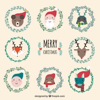 Piękne znaki Boże Narodzenie opakowanie