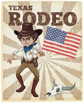 Plakat Rodeo