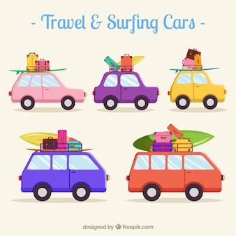 Podróże i Surfing Samochody Ustaw