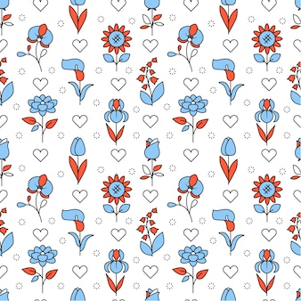 Popularne ikony kwiatów ślubu kwadratowych