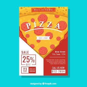 Projekt plakatu pizzerii