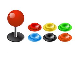Projektory kontrolerów gier