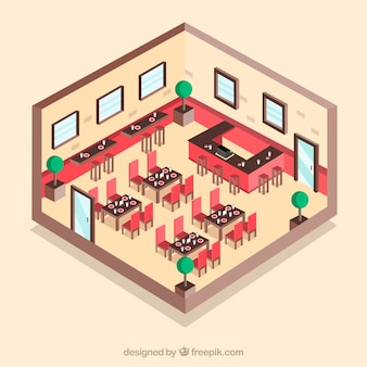 Restauracja cut widok