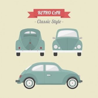 Retro design samochodu
