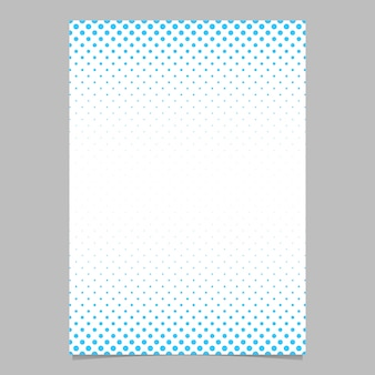Retro półtonów dot wzór szablonu brochure - wektor plakat tle ilustracji z okręgu deseń