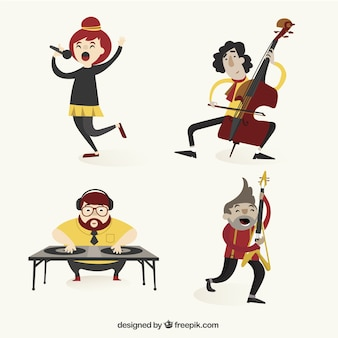 Różnorodność muzyków