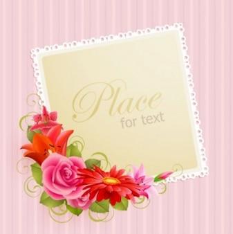 Rocznika Fram z tulipanów i stylu romantycznym.