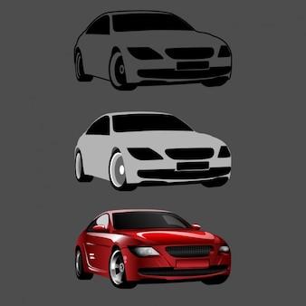 Samochodów, proces