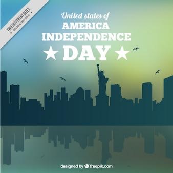 Stany Zjednoczone Ameryki Dzień Niepodległości tle