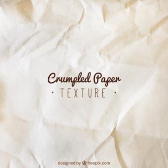 Stary zmięty papier tekstury