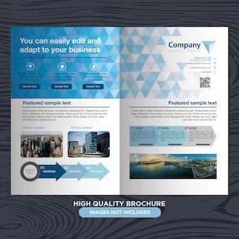 Streszczenie profesjonalnej broszury dla biznesu
