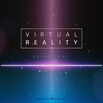 Streszczenie tle rzeczywistości wirtualnej