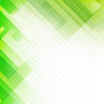 Streszczenie zielonym tle geometrycznej