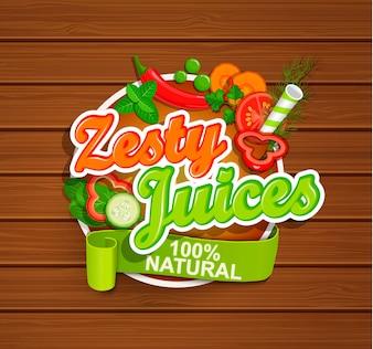 Symbol Zesty Juices.