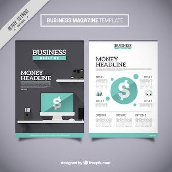 Szablon Business Magazine
