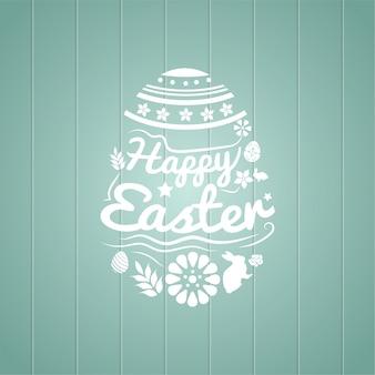 Szczęśliwy Wielkanoc Ilustracji