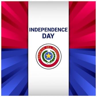 Tło dzień niepodległości Paragwaju