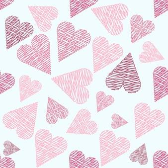 Tło wzór serca