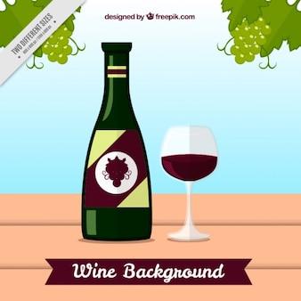 Tło z degustacją wina