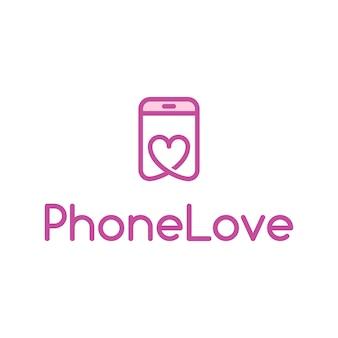 Telefon Miłość Logo