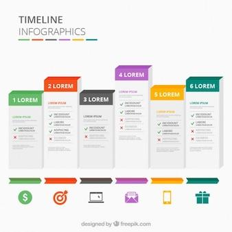 Timeline infografiki