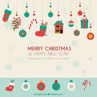 Tworzyć własne świąteczne ozdoby