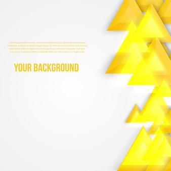 Wektor abstrakcyjna trójkąty szablonu. Web obiektu