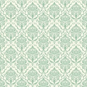 Wektor adamaszku bez szwu deseń tła. Klasyczny luksusowy staromodny adamaszku ozdoba, royal victorian bezszwowych tekstur do tapet, tekstylia, opakowanie. Wyrafinowany szablon barokowy kwiatowy.