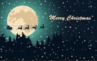 Wesołych Świąt plakatu