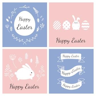 Wielkanoc karty kolekcja