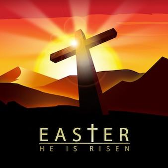Wielkanoc wzór tła
