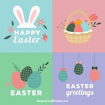 Wielkanoc zestaw kart