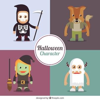 Wielkie znaki Halloween