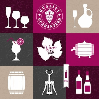 Wine collage tle