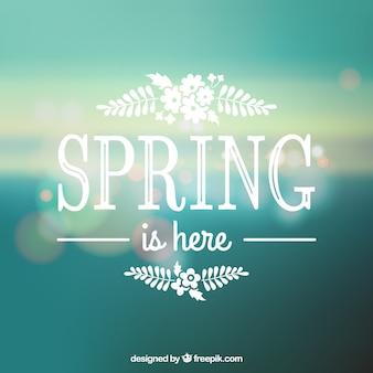 Wiosna jest tutaj